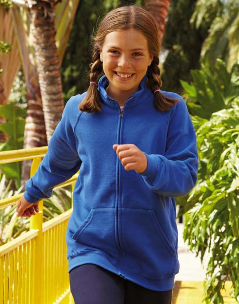 FRUIT OF THE LOOM Kids Classic Sweat Jacket