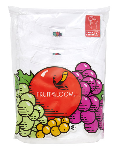 FRUIT OF THE LOOM 3 PACK ORIGINAL T