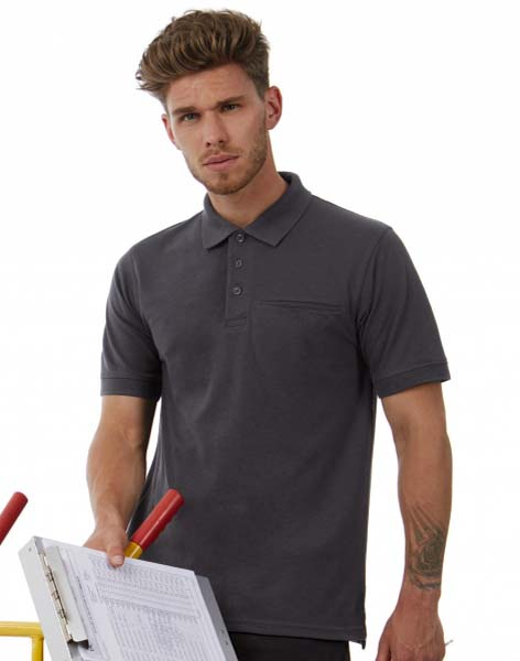 BC Energy Pro Workwear Pocket Polo