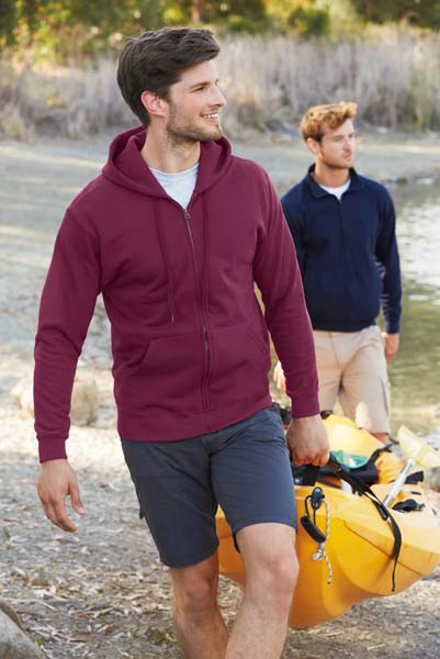 FRUIT OF THE LOOM Classic Hooded Sweat Jacket