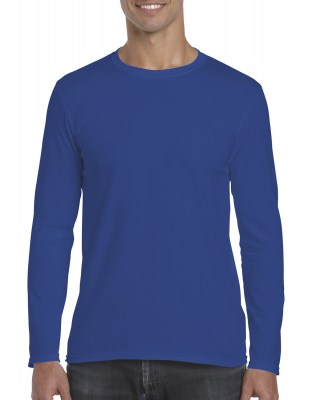 ΜΠΛΕ ΡΟΥΑ GILDAN Mens Softstyle® Long Sleeve Tee