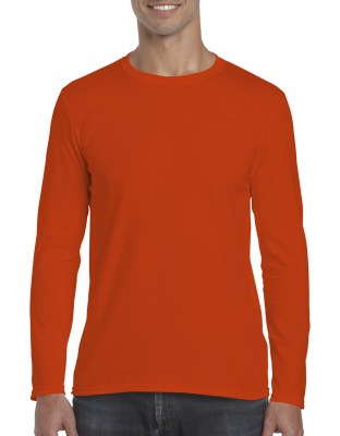 ΠΟΡΤΟΚΑΛΙ GILDAN Mens Softstyle® Long Sleeve Tee