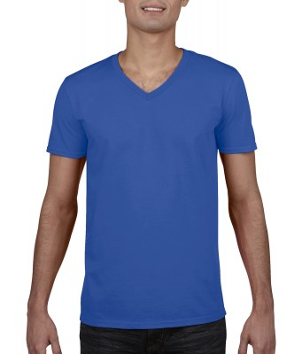 ΜΠΛΕ ΡΟΥΑ GILDAN Mens Softstyle® V-Neck T-Shirt