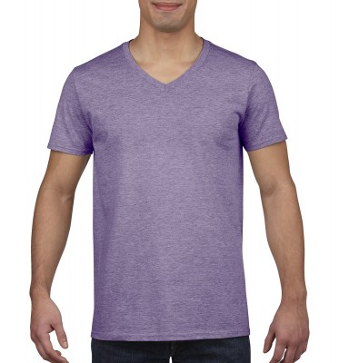 ΜΩΒ ΜΕΛΑΝΖΕ GILDAN Mens Softstyle® V-Neck T-Shirt