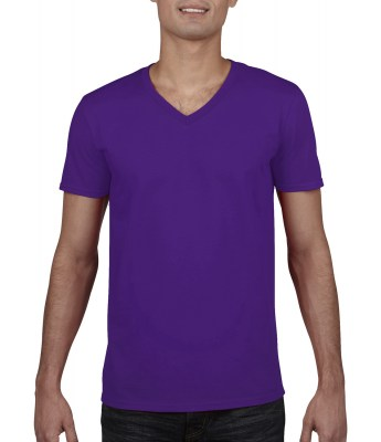 ΜΩΒ GILDAN Mens Softstyle® V-Neck T-Shirt