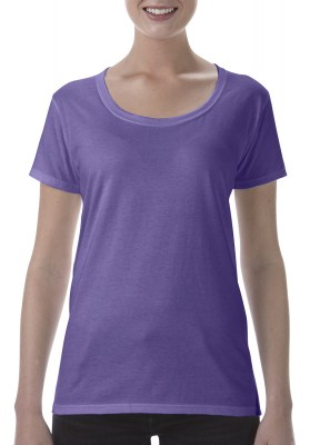ΜΩΒ ΜΕΛΑΝΖΕ GILDAN Softstyle® Ladies Deep Scoop T-Shirt