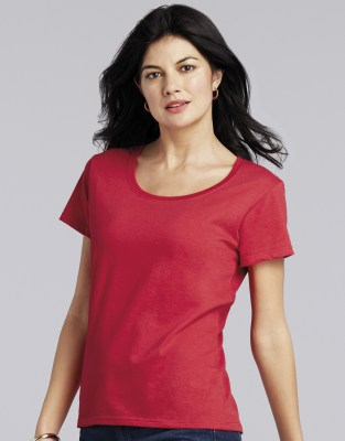 GILDAN Softstyle® Ladies Deep Scoop T-Shirt