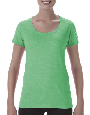 ΠΡΑΣΙΝΟ ΜΕΛΑΝΖΕ GILDAN Softstyle® Ladies Deep Scoop T-Shirt