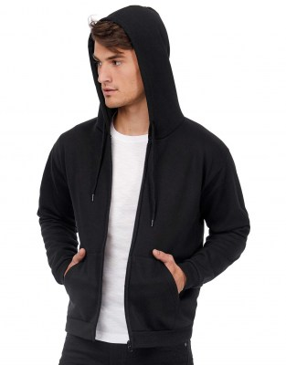 BC 50/50 Hooded Full Zip Sweat Unisex