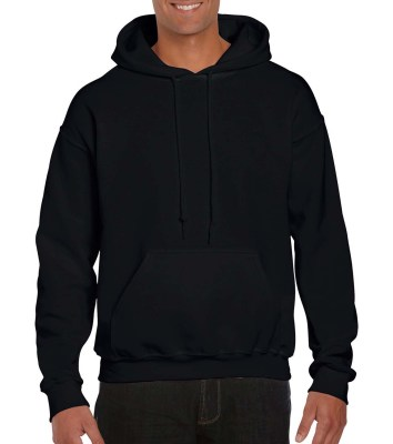 ΜΑΥΡΟ GILDAN DryBlend Adult Hooded Sweat