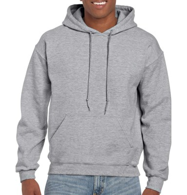 ΓΚΡΙ ΜΕΛΑΝΖΕ GILDAN DryBlend Adult Hooded Sweat