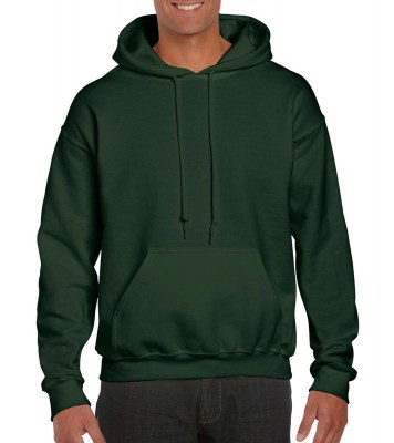ΠΡΑΣΙΝΟ ΣΚΟΥΡΟ GILDAN DryBlend Adult Hooded Sweat