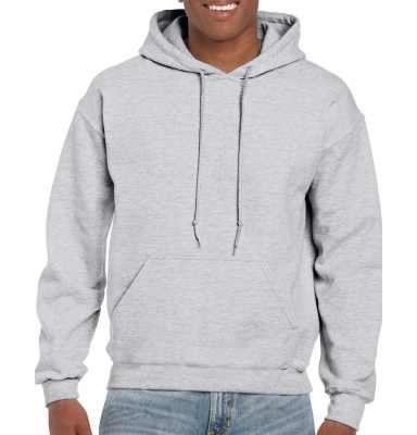 ASH GREY GILDAN DryBlend Adult Hooded Sweat