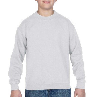 ΛΕΥΚΟ GILDAN Blend Youth Crew Neck Sweat
