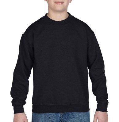 ΜΑΥΡΟ GILDAN Blend Youth Crew Neck Sweat