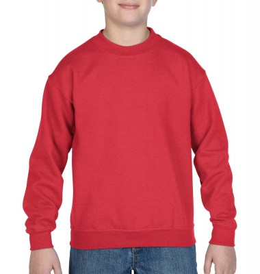 ΚΟΚΚΙΝΟ GILDAN Blend Youth Crew Neck Sweat
