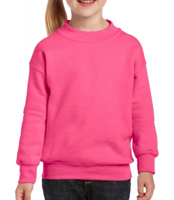 ΡΟΖ ΕΝΤΟΝΟ GILDAN Blend Youth Crew Neck Sweat