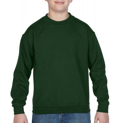 ΠΡΑΣΙΝΟ ΣΚΟΥΡΟ GILDAN Blend Youth Crew Neck Sweat