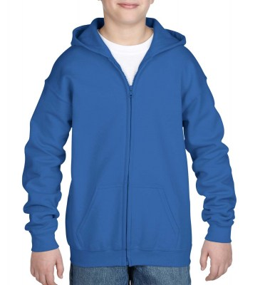 ΜΠΛΕ ΡΟΥΑ GILDAN Heavy Blend Youth Full Zip Hooded Sweat