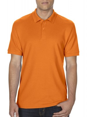 SAFETY ORANGE GILDAN DryBlend Double Pique Polo