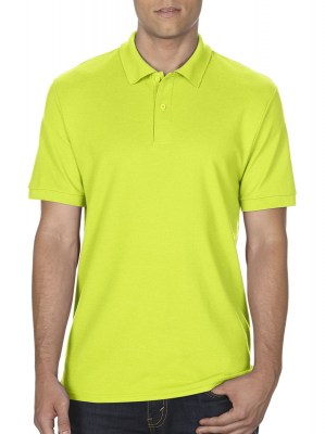 SAFETY GREEN GILDAN DryBlend Double Pique Polo