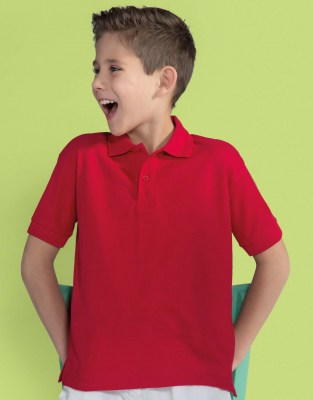 SG Kids 65/35 Blended Polo