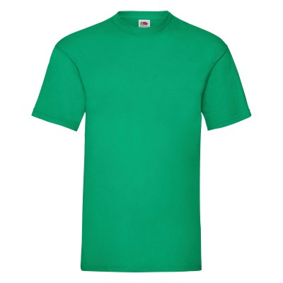 ΠΡΑΣΙΝΟ FRUIT OF THE LOOM T-SHIRT VALUEWEIGHT