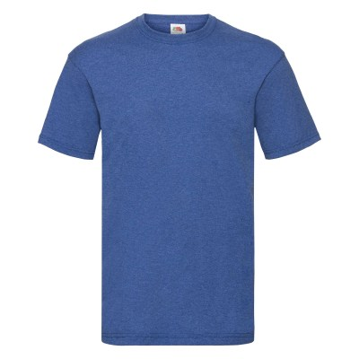 ΜΠΛΕ ΡΟΥΑ ΜΕΛΑΝΖΕ FRUIT OF THE LOOM T-SHIRT VALUEWEIGHT