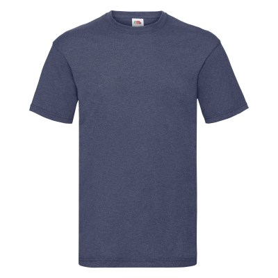 ΜΠΛΕ ΜΕΛΑΝΖΕ FRUIT OF THE LOOM T-SHIRT VALUEWEIGHT