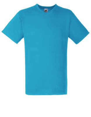 ΤΥΡΚΟΥΑΖ T-shirt FRUIT OF THE LOOM VALUEWEIGHT V-NECK T