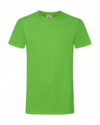 LIME FRUIT OF THE LOOM Sofspun Tee MENS