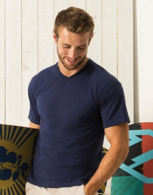 T-shirt FRUIT OF THE LOOM  ORIGINAL V NECK