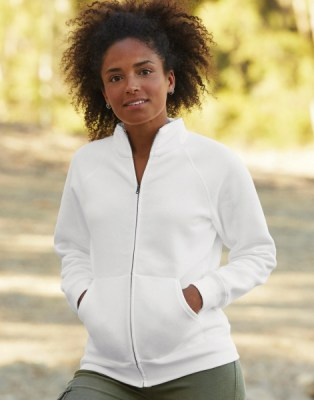 FRUIT OF THE LOOM Ladies Premium Sweat Jacket