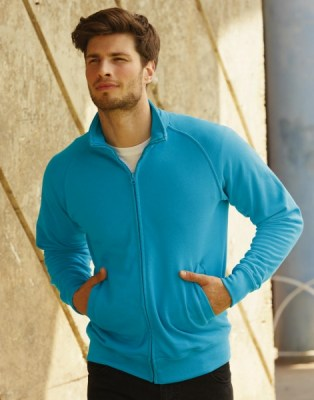 FRUIT OF THE LOOM Lightweight Sweat Jacket