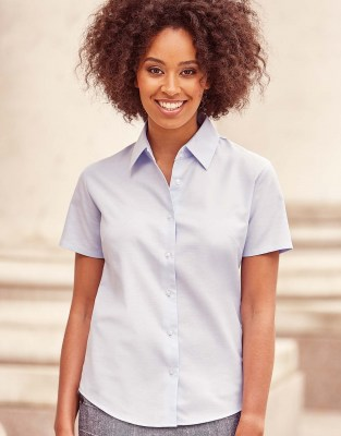 RUSSELL Ladies Oxford Blouse