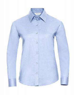 ΓΑΛΑΖΙΟ RUSSELL Ladies Oxford Blouse LS