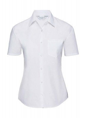 ΛΕΥΚΟ RUSSELL Ladies Poplin Shirt
