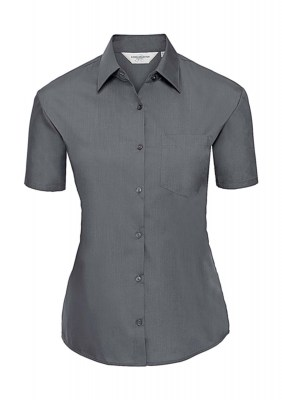 ΓΚΡΙ RUSSELL Ladies Poplin Shirt
