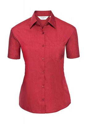 ΚΟΚΚΙΝΟ RUSSELL Ladies Poplin Shirt