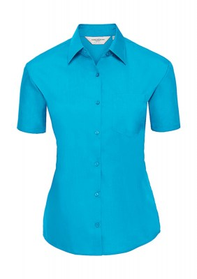 ΤΥΡΚΟΥΑΖ RUSSELL Ladies Poplin Shirt