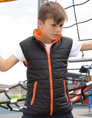 RESULT Junior/Youth Padded Bodywarmer