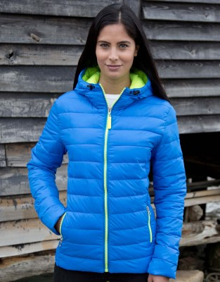 RESULT Ladies Snow Bird Hooded Jacket