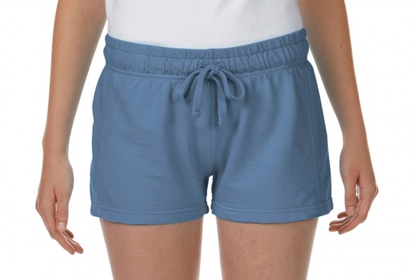 BLUE JEAN COMFORT COLORS Ladies French Terry Shorts