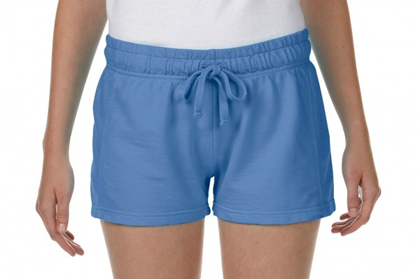 FLO BLUE COMFORT COLORS Ladies French Terry Shorts