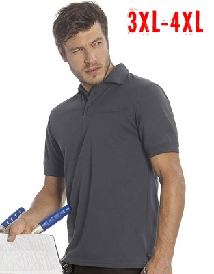 BC Energy Pro Workwear Pocket Polo 3XL - 4XL