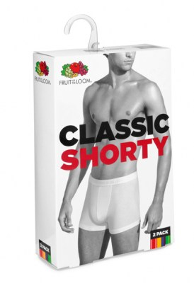 Fruit Of The Loom NEW CLASSIC SHORTY 2 PACK
