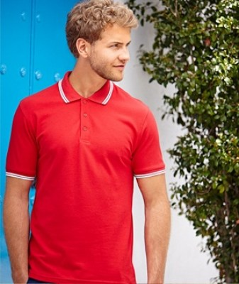 FRUIT OF THE LOOM Polo Premium Tipped