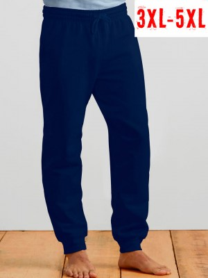 GILDAN Heavy Blend Sweatpants with cuff 3XL-5XL