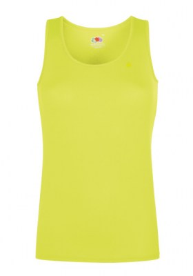 ENTONO ΚΙΤΡΙΝΟ FRUIT OF THE LOOM Performance Vest Lady-Fit