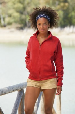FRUIT OF THE LOOM Ladies Full Zip Fleece